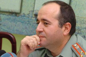 Photo: Photolure Major-General Arshak Karapetyan