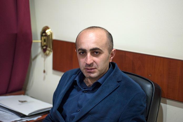 Hayk Khanumyan (Photo: Nazik Armenakyan/ArmeniaNow.com)