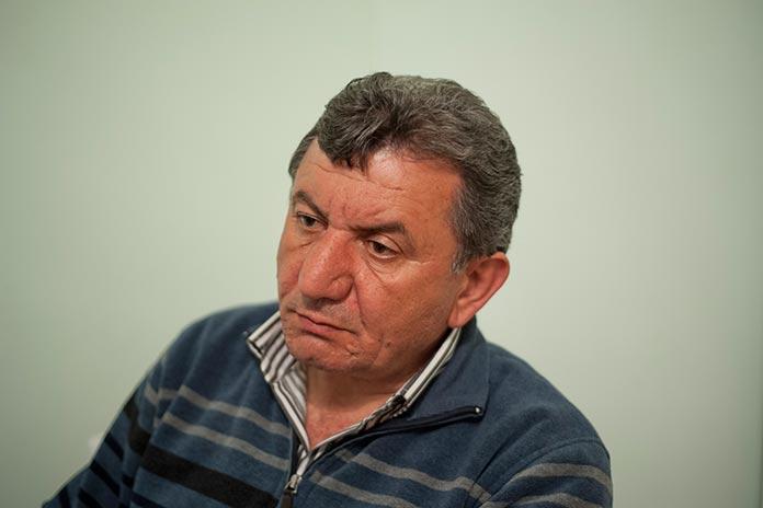 Vilen Petrosyan, head of Talish village (Photo: Nazik Armenakyan/ArmeniaNow.com)