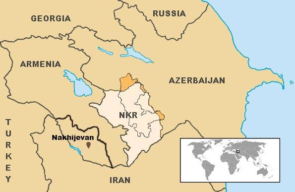 armenia-azerbaijan-karabakh-map-Nakhijevan
