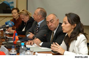 A panel said Armenia has a human trafficking problem