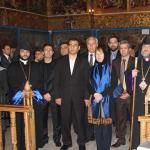 Ashton's visit to Armenian church in Iran and Armenia's role in rapprochement between Brussels and Tehran