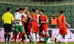 Soccer match gone wrong: Bulgaria v Armenia (1-0) World Cup qualifier turns violent