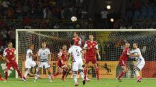 Soccer: Armenian coach praises team commitment after Denmark draw