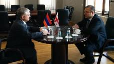 Armenian, Georgian FMs meet in Tbilisi