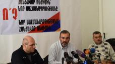 "New Armenia Bid: Opposition group in ""peaceful disobedience"" campaign"
