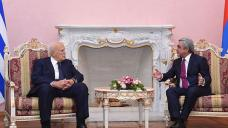 Armenian, Greek presidents discuss wide range of issues
