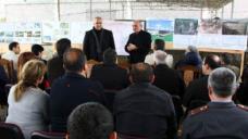 """Karabakh president, Armenian opposition leader visit """"southern flank"""""""
