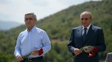 "Armenian president says Artsakh people's ""history-making choice"" irreversible"