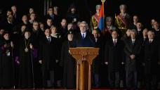 Armenian president again blasts Ankara over April 24 invitation