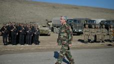 Constitution and Security: Sargsyan inspects Karabakh troops, not yet involved in referendum campaigning