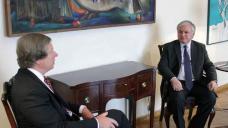 Armenian president, U.S. mediator discuss Karabakh settlement