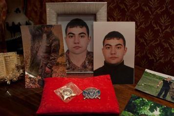 His Son's Father: Killed conscript's parent rejoins military