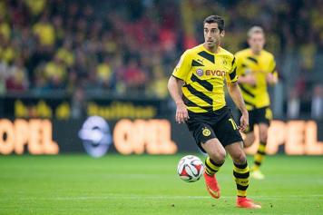 Soccer: Mkhitaryan injury likely to sideline Borussia's Armenian player for 4 weeks