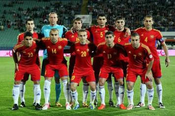 Soccer: Armenia drops 16 spots on FIFA rankings