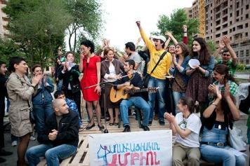 Struggling On: Civic activists determined to continue fighting for rights in Armenia
