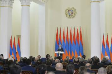 President Sargsyan: Parties will lead political struggle