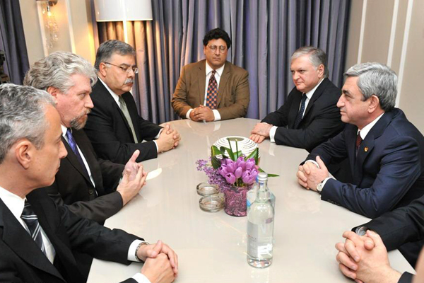 President Sargsyan's meetings in Washington DC