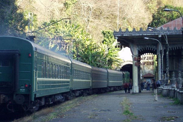 Abkhazian Link: Experts in Yerevan discuss prospects of strategic railway's reoperation