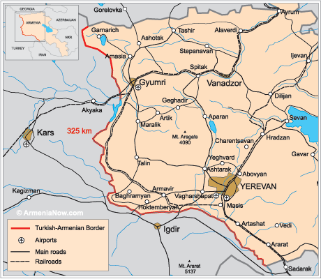 March 16,  89 Years Ago: Some background on the current Armenian-Turkish border