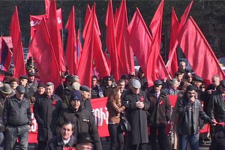 Reviving Red?: Armenian Communists mark Sovietization anniversary amid USSR reintegration calls