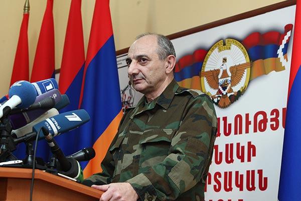 Stepanakert's Perspective: President Sahakyan says Karabakh's return to negotiating table necessary