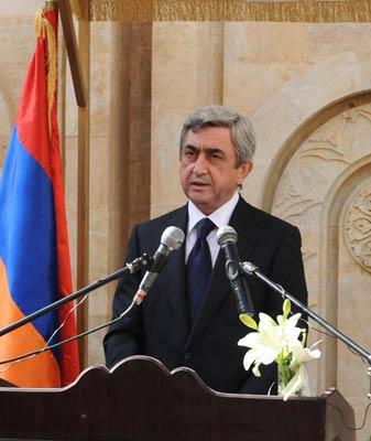 Remarks by President Serzh Sargsyan in Deir ez Zor