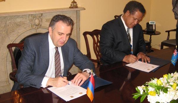 Tuvalu-Armenia: Two countries' diplomatic relations anger Azerbaijan and Georgia