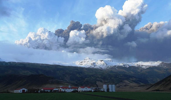 Global Fallout: Iceland volcano 3,000 miles away affecting  Armenia