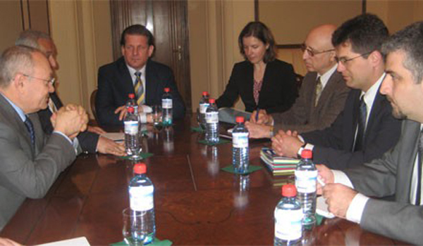 RA General Prosecutor received OSCE/ODIHR Director Janez Lenarcic