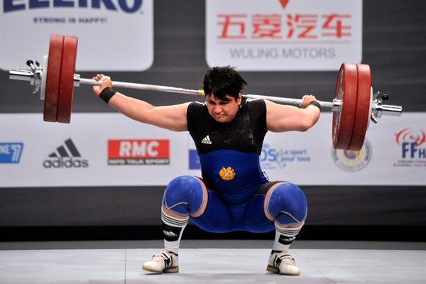 Weightlifting: World Championships too heavy for Armenia to handle