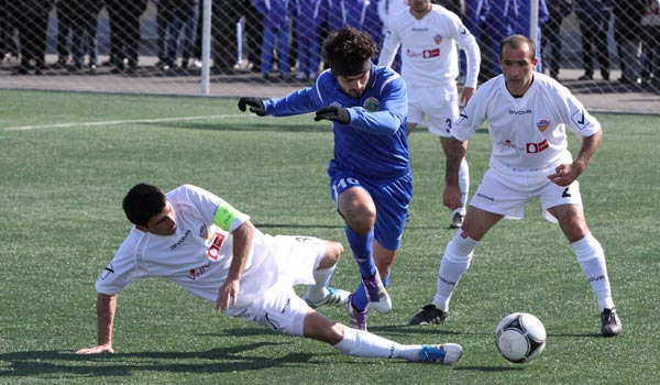 Soccer: Armenian clubs in Cup semifinals ahead of extended championship season