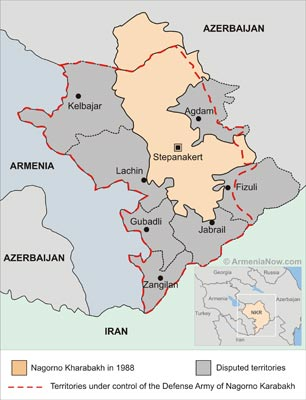 "Four Armenian soldiers killed in Karabakh clash; Yerevan condemns Azeri ""provocation"""