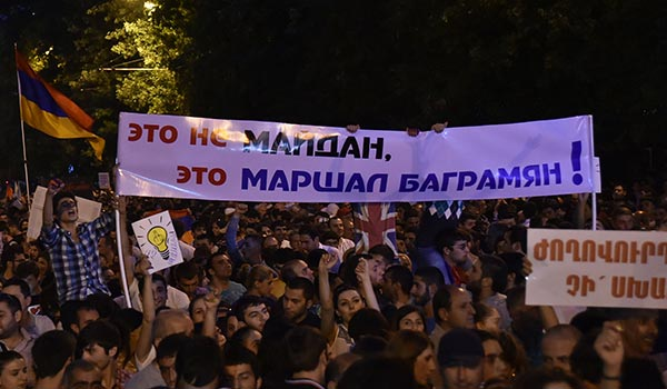 Electric Yerevan: Outcomes and lessons of two-week-long 'non-political' protests