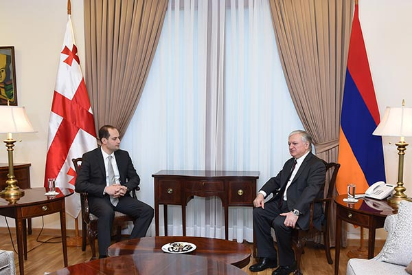 Armenia-Georgia: Energy, security issues high on neighbors' bilateral agenda