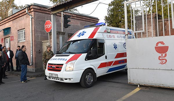 Healing the Wounds: Soldiers from Karabakh getting treatment at military hospital in Yerevan