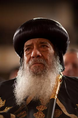 Armenian Patriarchs offer condolences on Coptic Pope's Death