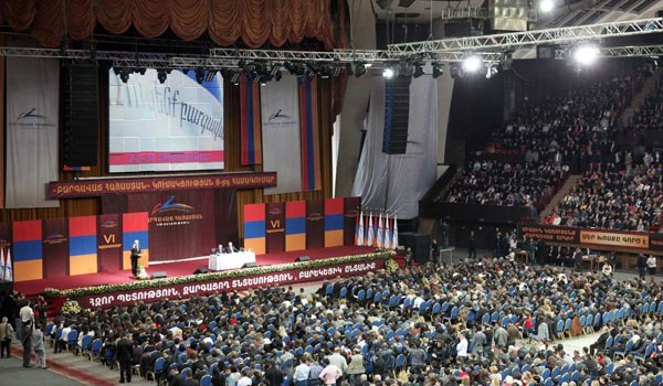 Vote 2012: Party lists, nominations, election rhetoric as parliamentary race heats up in Armenia