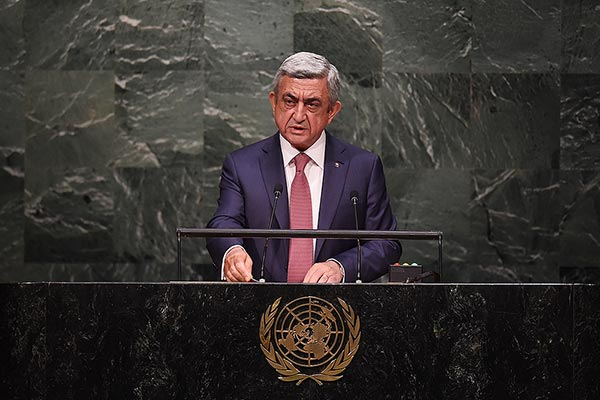 Armenian President: Azerbaijan needs images from Line of Contact to divert public attention