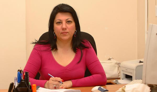 Offended: Orinats Yerkir spokeswoman quits job over election list position