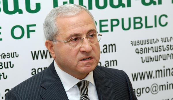 Ընտրություններ 2012. գյուղատնտեսության նախարարի ելույթը տարակարծությունների տեղիք է տվել