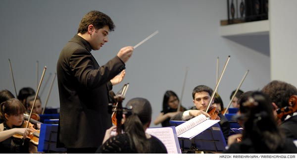 Touching the soul: Young musicians deliver classical music to Armenian youth