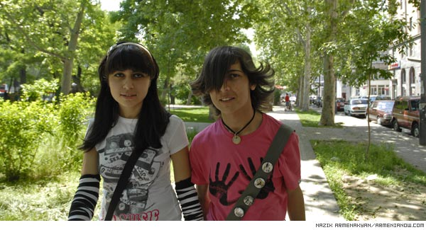 Emo in Yerevan: Eccentric and emotional teenagers challenge society
