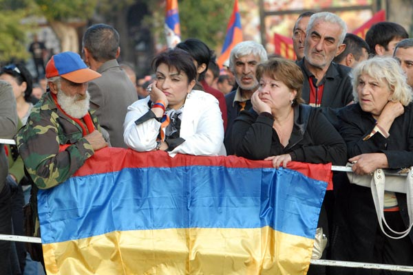 Old things said anew: Armenian opposition ends sitting strike, calls for president's resignation