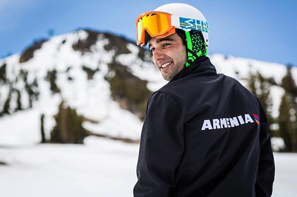 Sports: U.S.-based skier seeks Olympic spot with Armenia in Sochi