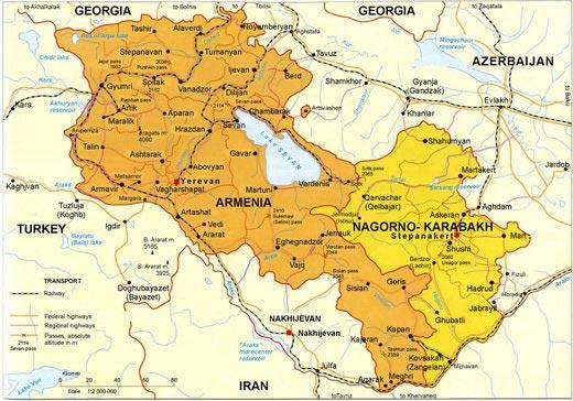 New route Karabakh building second road to Armenia Karabakh