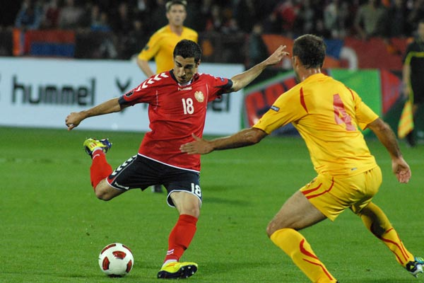 Dreams in Tricolor: Armenia 4, Macedonia 1 in UEFA qualifying