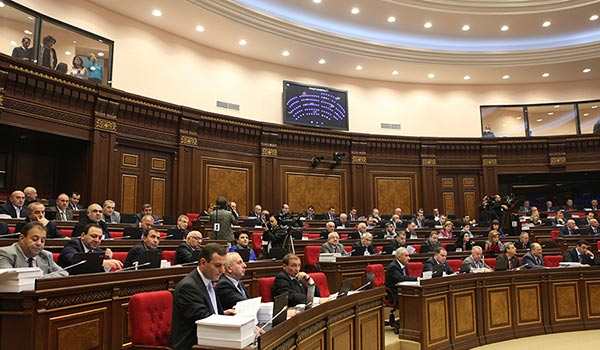 Passed: Armenian parliament approves 2013 state budget