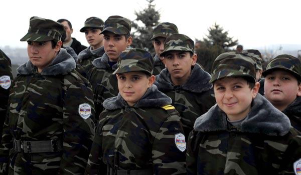 Armenian Army turns 20