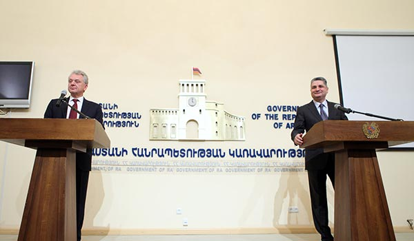 Armenia, Eurasian Economic Commission sign memo on cooperation